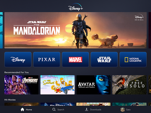 Disney+ screenshot 12