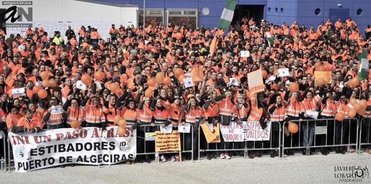 Javi Viso pide a Landaluce que explique a las familias de los estibadores el rechazo del PP al decreto que pone fin a la crisis laboral en el sector