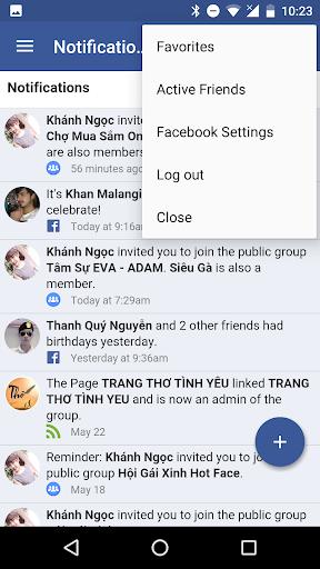 Messenger for Facebook 1.06052018 screenshots 3