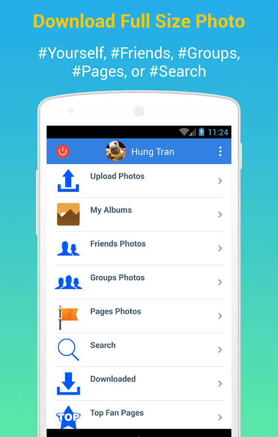 Download Facebook Photo Albums- screenshot