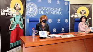 Presentación del Ciclo Académico de las Jornadas de Teatro del Siglo de Oro, esta mañana en la UAL.
