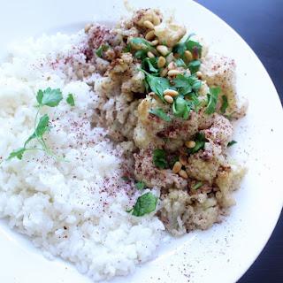 Cauliflower with Tahini.