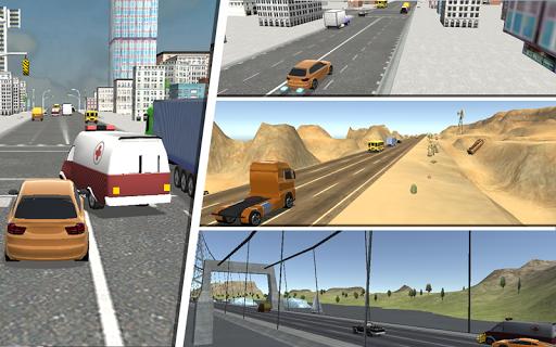 Heavy Traffic Racing 3D apktram screenshots 2