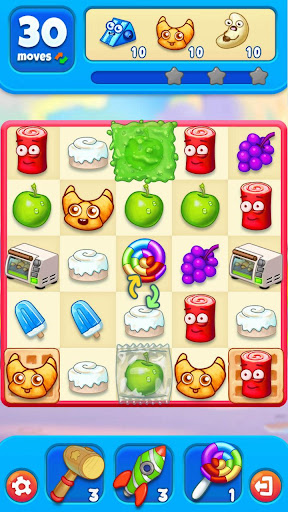 Sugar Heroes - World match 3 game!  screenshots 5