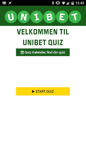 Unibet  QUIZ  screenshots 1