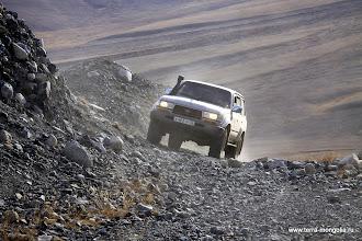 Photo: Крутые перегибы горной гряды.