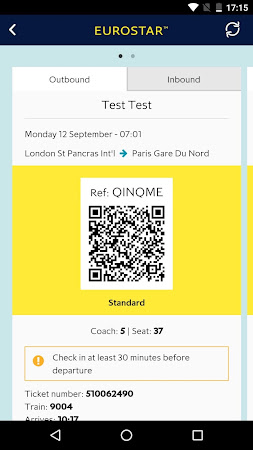 Eurostar Trains 5.0.0 screenshot 606072