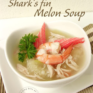 Shark's Fin Melon Soup 鱼翅瓜汤