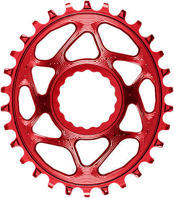 Absolute Black Oval Narrow-Wide Direct Mount Chainring - CINCH Direct Mount, 3mm Offset, Colored  alternate image 11