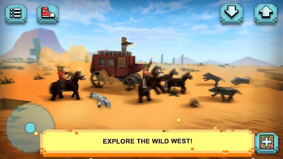 Wild West Craft: Exploration - náhled
