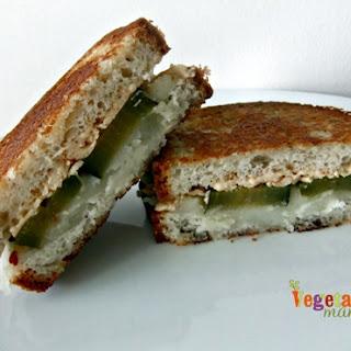 Mashed Potato Grilled Cheese – #glutenfree #vegan #singleserve.