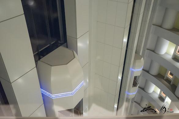札幌プリンスホテル・エレベーター