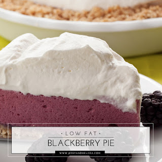 Low Fat Blackberry Pie - Weight Watchers.