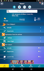 Linate Airport (LIN) Milan screenshot 1