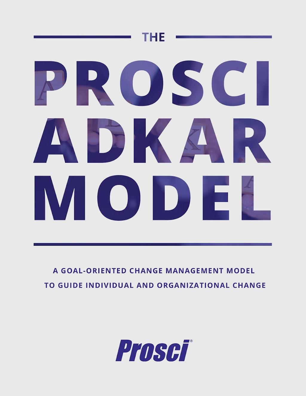 Prosci ADKAR Model Overview Ebook Cover