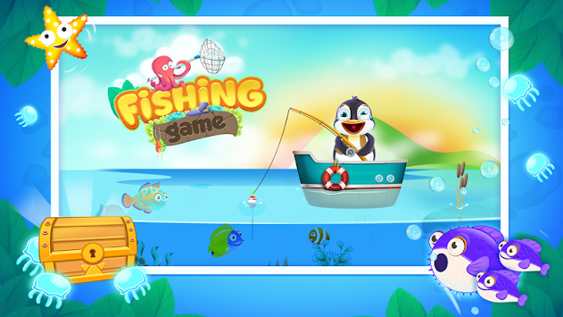 Sea fishing games for kids apk free casual games for android for Fishing games for kids free