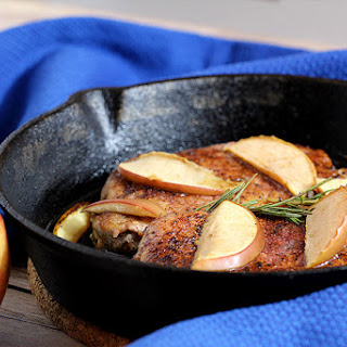 Rosemary Apple Pork Chops