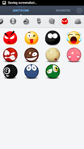 Face Emoticons Stickers screenshot 3
