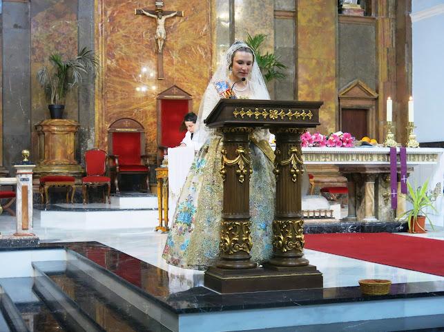 Les falles de Turís celebren la missa en honor a Sant Josep