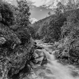 by Bjørnar Røtting - Black & White Landscapes
