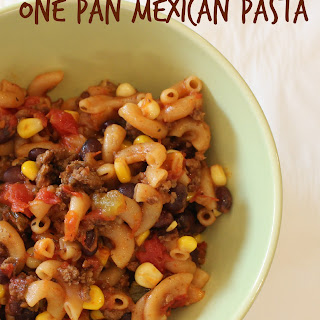One Pan Mexican Pasta