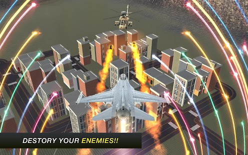 Air Robot Flying Transformation 3D Fighting Game - náhled