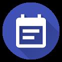 Calendar Agenda Widget (Material Design) icon