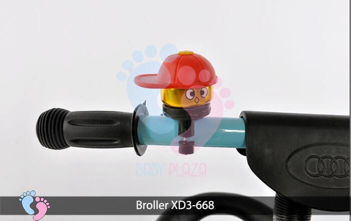 Xe đạp 3 bánh Broller XD3 668 4