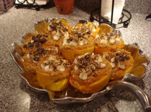 Sweet Potatoes In Orange Cups Recipe