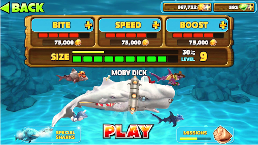 Download Cheat Hungry Shark Evolution Google Play softwares