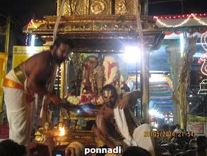 Photo: dhEva perumAL with nAchiyArs in puNya kOti vimAnam