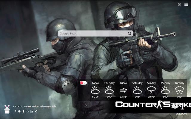 CS GO - Counter Strike Online New Tab, Wallpa