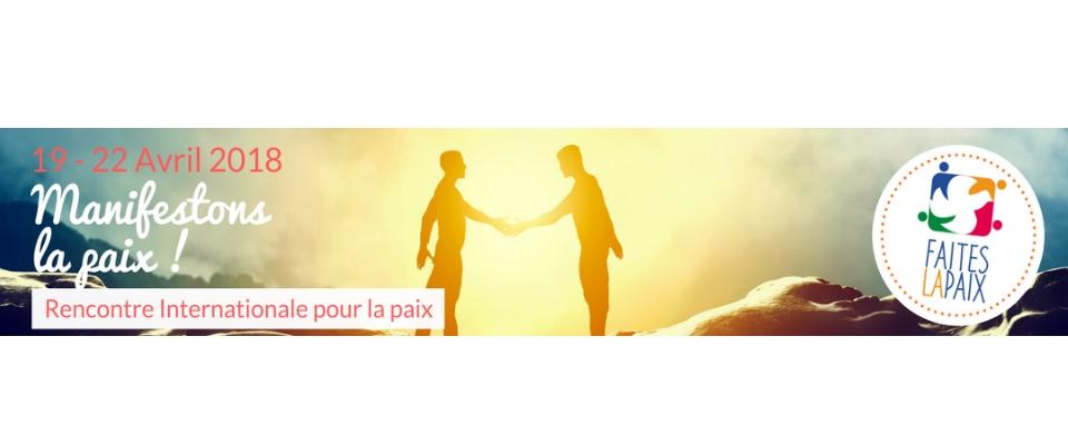 Faites la paix – Aktiv für den Frieden