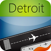 Detroit Airport+Flight Tracker