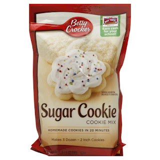 Betty Crocker Sugar Cookies (Drop Cookies)