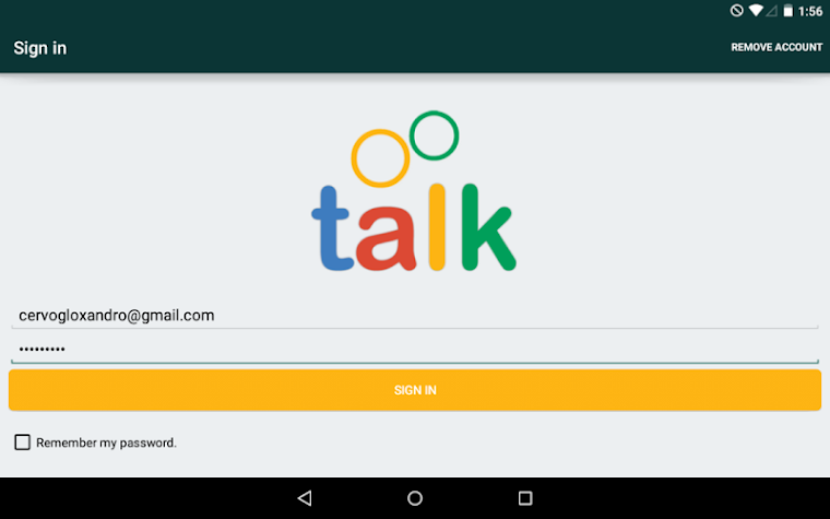 Talk Secure Messenger Pro Screenshot