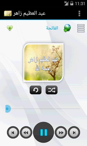 عبد العظيم زاهر - لا اعلانات