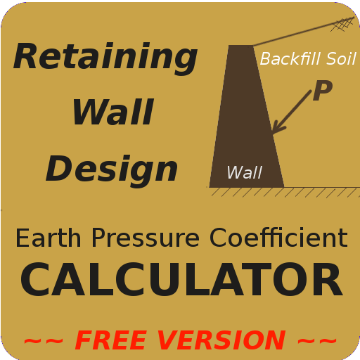 Retaining Wall Design- Soil Coefficient CALCULATOR - Apps on