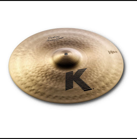 "18"" Zildjian K Custom - Session Crash"