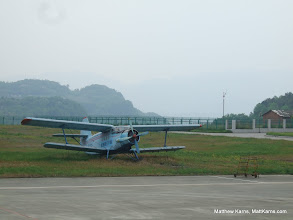 Photo: This Nanchang Y-5 was at an airport on the way to Kunming. Yes, I am a nerd.