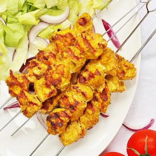 Spanish Chicken Kebabs Recipe