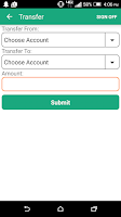 Screenshot of NDFCU Mobile Access