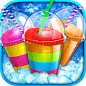 Rainbow Frozen Slushy Maker: Ice Candy Slush Maker icon