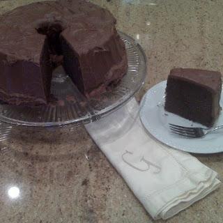 Chocolate Pound Cake with Chocolate Fudge Icing