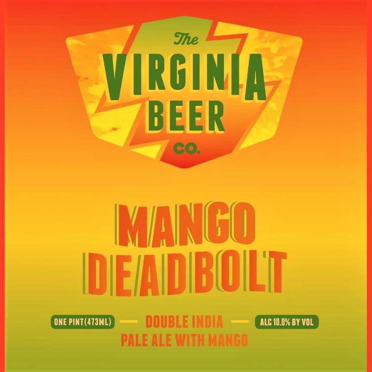 Logo of Virginia Beer Co. Mango Deadbolt