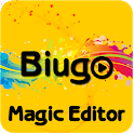 Biugo Effects Magic Editor Videos & Tutorial Magic icon