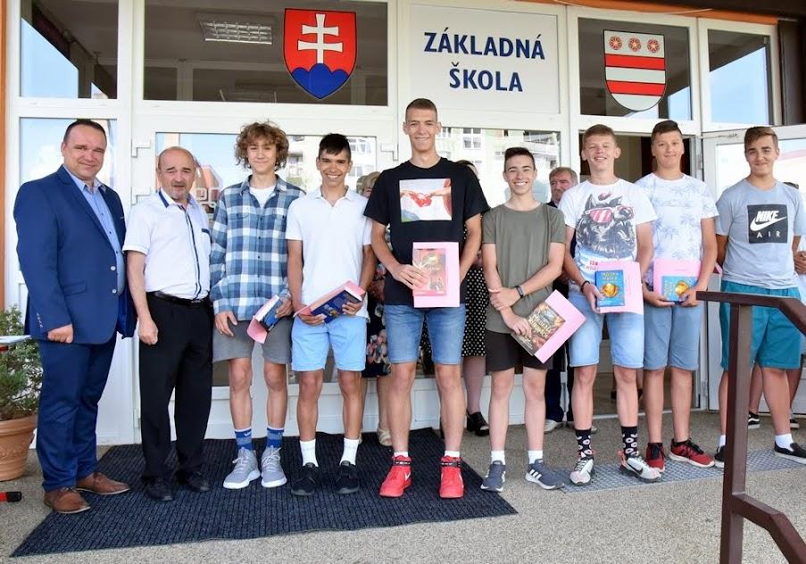 Slávnostné ukončenie šk. roka 2018 / 2019