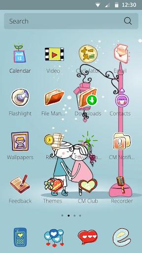 새벽에 내게 키스테마|玩個人化App免費|玩APPs