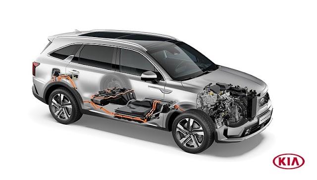 Las ventas del Sorento Plug-in Hybrid comenzarán en el primer trimestre de 2021.