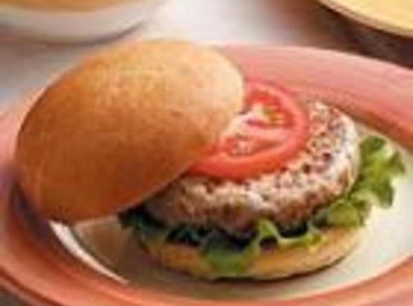 Healthy Spicy Turkey Burgers Recipe